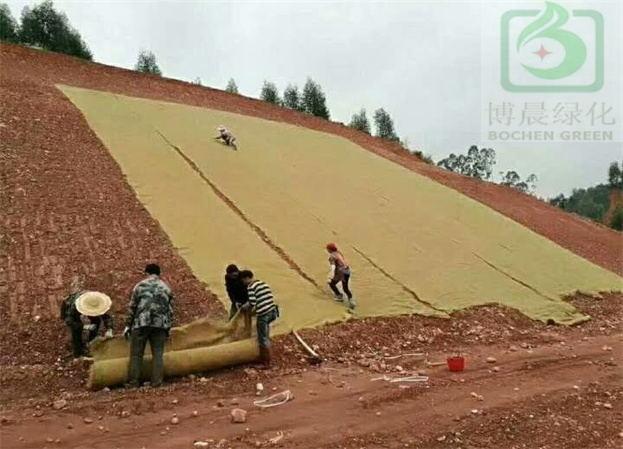环保草毯护坡技术之施工步骤