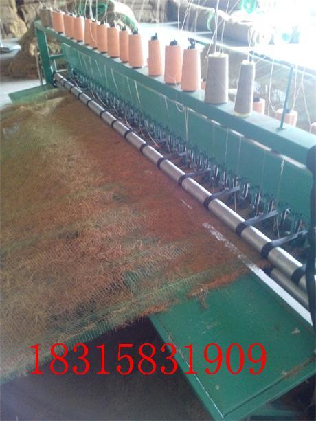 环保草毯生产线顺利投产