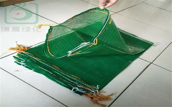 简易网眼植生袋的应用
